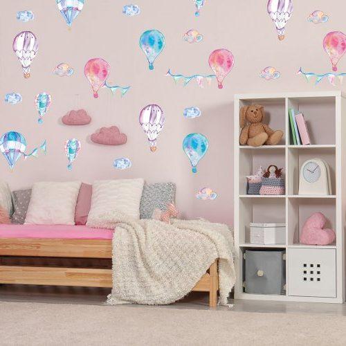 מדבקות קיר כדורים פורחים לחדרי ילדים ונוער- מיכל נמצוב סטודיו m creative